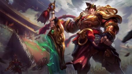 德玛西亚之力-张辽-盖伦 英雄联盟 壁纸高端桌面精选 3840x2160