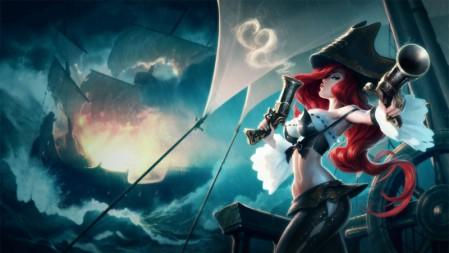 赏金猎人-厄运小姐 英雄联盟 壁纸高端桌面精选 3840x2160