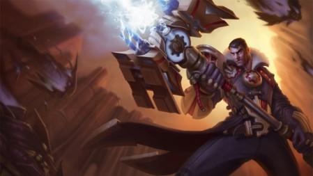 未来守护者-杰斯 英雄联盟 壁纸高端桌面精选 3840x2160