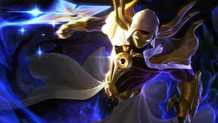 虚空行者-掠星魔刃-卡萨丁 英雄联盟 壁纸高端桌面精选 3840x2160