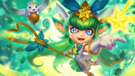 仙灵女巫 星之守护者 璐璐 英雄联盟 壁纸高端桌面精选 3840x2160