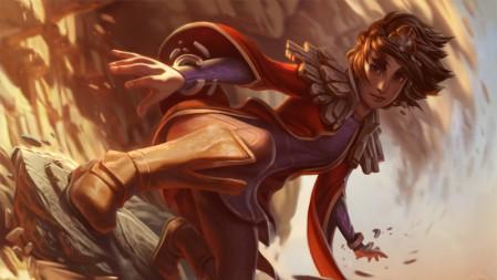 岩雀-塔莉娅 英雄联盟 壁纸高端桌面精选 3840x2160