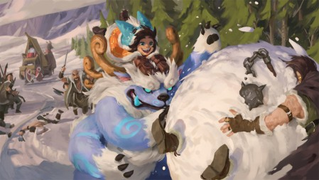 雪原双子 同人漫画 努努 (13) 英雄联盟 壁纸高端桌面精选 3840x2160