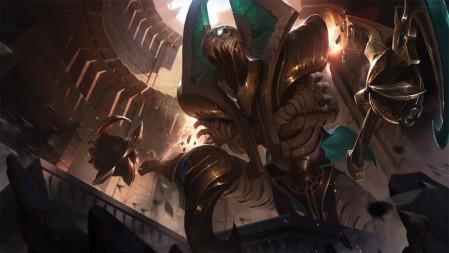 末日使者-重生之沙-费德提克 英雄联盟 壁纸高端桌面精选 3840x2160