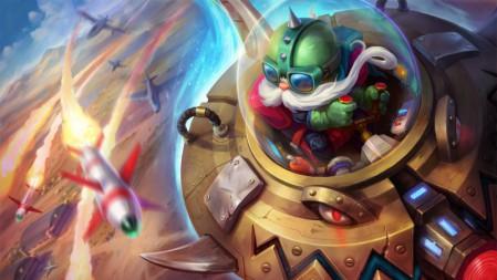英勇投弹手-外星装甲-库奇 英雄联盟 壁纸高端桌面精选 3840x2160