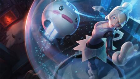发条魔灵 冬季仙境 奥莉安娜3 英雄联盟 壁纸高端桌面精选 3840x2160