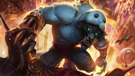 祖安怒兽-披着海牛的狼-沃里克 英雄联盟 壁纸高端桌面精选 3840x2160