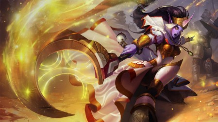 众星之子-圣洁化身-索拉卡 英雄联盟 壁纸百变桌面精选 3840x2160