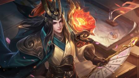 赤莲之焰-周瑜 王者荣耀 壁纸高端桌面精选 3840x2160
