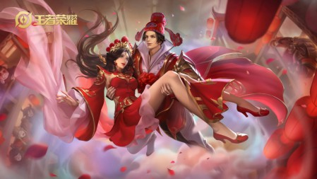 孙悟空-大圣娶亲 王者荣耀4k游戏壁纸高端桌面精选 3840x2160