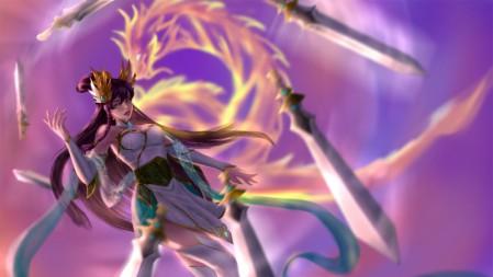 刀锋舞者 御剑传说同人 艾瑞莉娅 英雄联盟 壁纸高端桌面精选 3840x2160