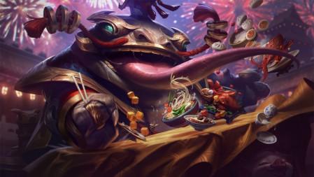 河流之主 纳财大帝 塔姆 英雄联盟 壁纸高端桌面精选 3840x2160