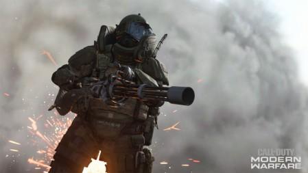 《使命召唤现代战争重制版Call of Duty Modern Warfare Remastered》枪 防护战服 浓烟 4K高清桌面游戏壁纸高端桌面精选 3840x2160