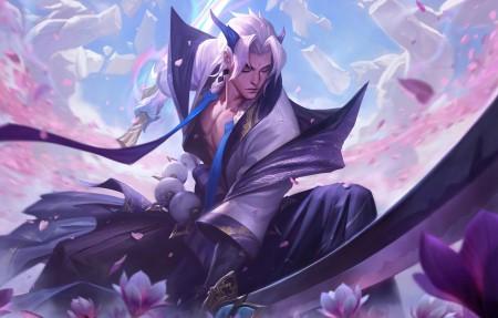 英雄联盟lol封魔剑魂 灵魂莲华 永恩4k游戏壁纸高端桌面精选