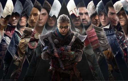 《刺客信条 英灵殿 Assassins Creed_ Valhalla》游戏人物大全4k壁纸高端桌面精选