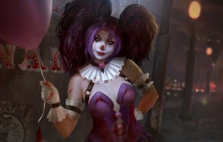 神之浩劫 小丑3440x1440游戏壁纸高端桌面精选
