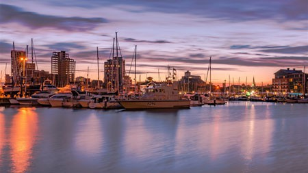 市,码头,船,日落,2022,高清,摄影高端桌面精选 3840x2160