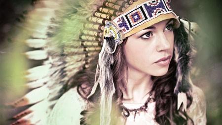 印度,化妆,漂亮,女孩,特写镜头极品壁纸精选 3840x2160