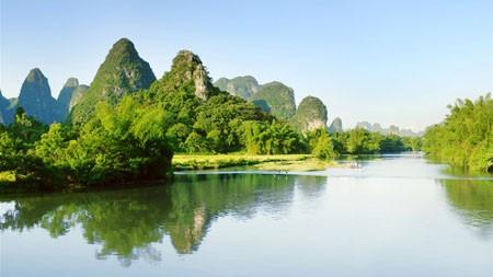 广西,中国,绿色,大山,河流,4K,高清高端桌面精选 3840x2160