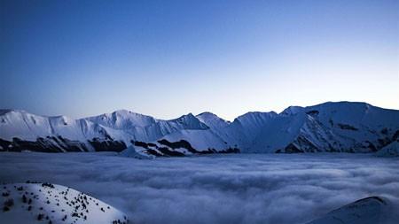雪域高原,高峰,晚上,HD,景观高端桌面精选 3840x2160