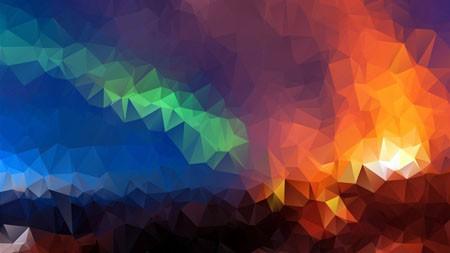 北极光,抽象,高清,艺术,设计极品壁纸精选 3840x2160