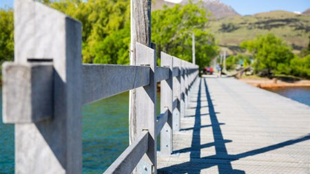 模糊,明亮,白天,码头,桥梁,4K,风景,摄影高端桌面精选 3840x2160