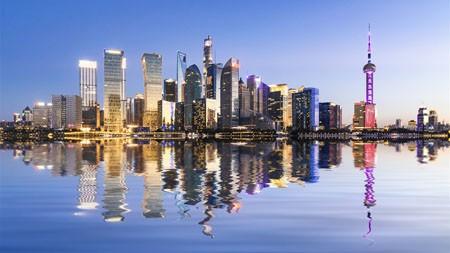 上海外滩,地标,夜景,高清,摄影高端桌面精选 3840x2160
