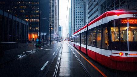 街道,摩天大楼,公共汽车,2022,城市,高清,照片高端桌面精选 3840x2160