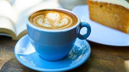 午后时光,蓝色,卡布奇诺,咖啡极品壁纸精选 3840x2160