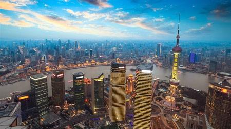 上海,外滩,金茂大厦,天际线极品壁纸精选 3840x2160