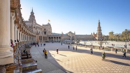 西班牙,休闲,广场,2021年,旅行,5K,摄影高端桌面精选 3840x2160