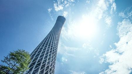 广州,中国,地标,广州塔,天空高端桌面精选 3840x2160