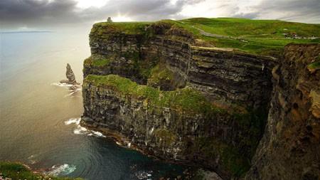 爱尔兰,悬崖,海洋,海岸线,iMac,Retina,4K,超高清极品壁纸精选 3840x2160