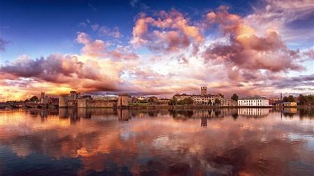 香农河,利默里克,利默里克郡,爱尔兰,2021年,冰,5K,照片极品壁纸精选 5120x2880