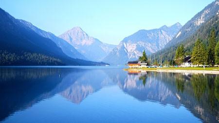 奥地利,普兰西湖,高清,自然,风景,照片高端桌面精选 3840x2160
