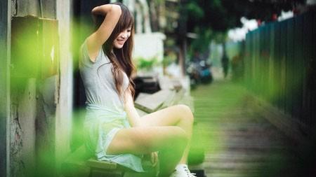 台湾,街头休闲,纯洁,可爱,美丽的女孩极品壁纸精选 3840x2160