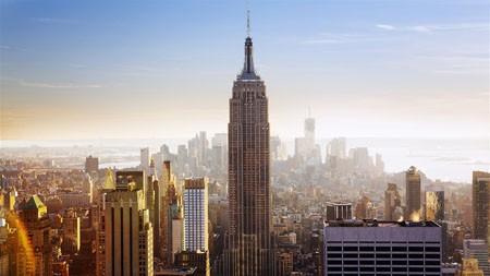 纽约,曼哈顿,摩天大楼,地平线高端桌面精选 3840x2160