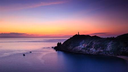 日落,了望塔,海景湾,黄昏,景区高端桌面精选 3840x2160