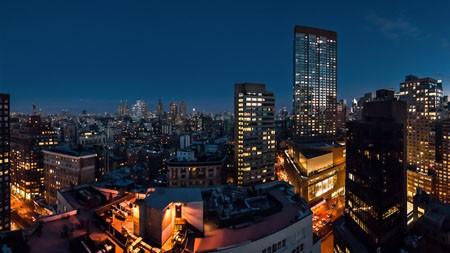 夜晚的城市,建筑物的屋顶,2022,高清,摄影高端桌面精选 3840x2160