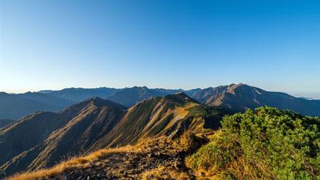 山脉,秋天,旅行,2022年,自然,风景,照片高端桌面精选 3840x2160