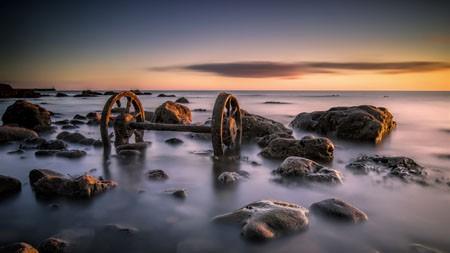 英格兰,西汉姆,海岸,海滩,2022,风景,照片高端桌面精选 3840x2160