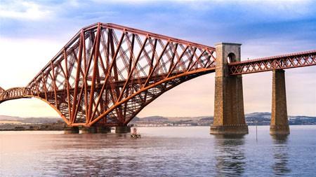 桥,爱丁堡,苏格兰,英国,2021,城市,旅行,高清照片高端桌面精选 3840x2160