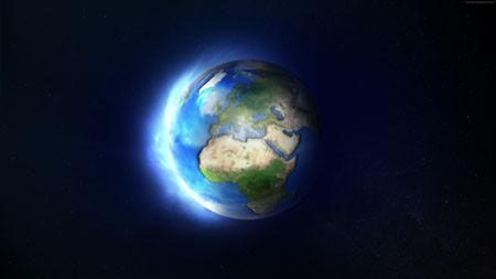 浩瀚,宇宙,蓝色,星球,2022,4K,高清百变桌面精选 3840x2160