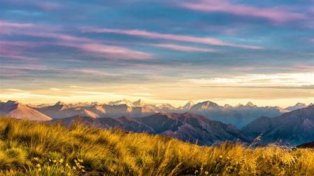 新西兰,南岛,雪山,云,风景高端桌面精选 3840x2160