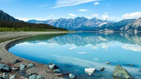 山,湖,自然,4K,高清,景观高端桌面精选 3840x2160