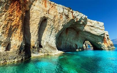 扎金索斯岛,希腊,2021,自然,风景,5K,照片高端桌面精选 5120x2880