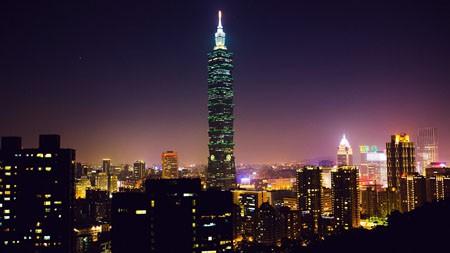 中国,台湾,城市,地标,夜景高端桌面精选 3840x2160