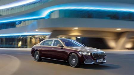 2021,梅赛德斯·迈巴赫S580,豪华轿车,高清,照片高端桌面精选 3840x2160