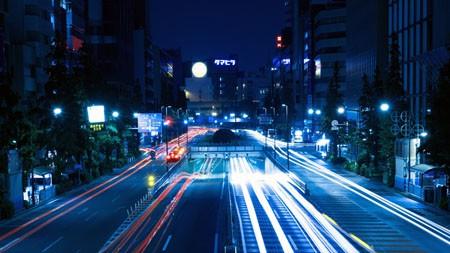 夜路,交通,照明,长时间曝光高端桌面精选 3840x2160