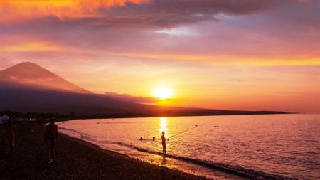 阿贡·阿梅德海滩,印度尼西亚巴厘岛,2022年,风景,4K,摄影高端桌面精选 3840x2160